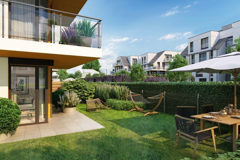 mieszkania z małym ogródkiem na Kowalach - Lokum Villa Nova
