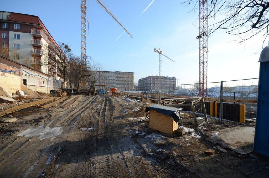 inwestycja mieszkaniowa we Wrocławiu - budowa bloku